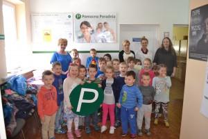 """Projekt """"Młodzi doktorzy"""" - wizyta dzieci z PP nr 6 """"Słoneczko"""" w Łasku"""